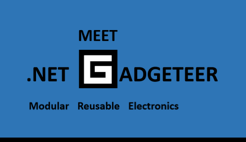 Slides From NoVA Mini Maker Faire – Meet Gadgeteer