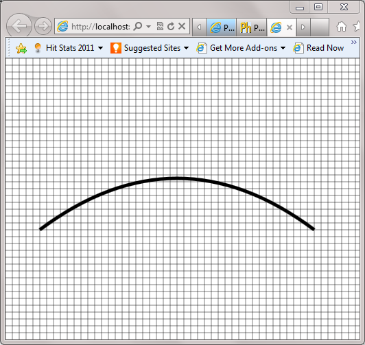 Drawing Grid Lines In Canvas Wpf : Visualizing layout in html canvas with gridlines devhammer